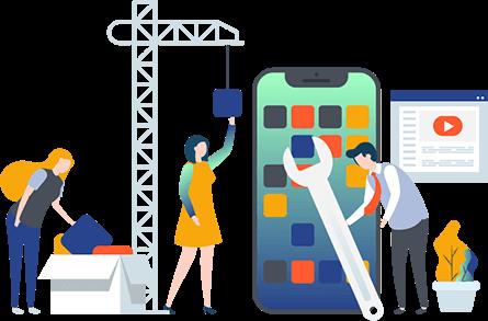 تصميم تطبيقات الجوال Mobile-app-top