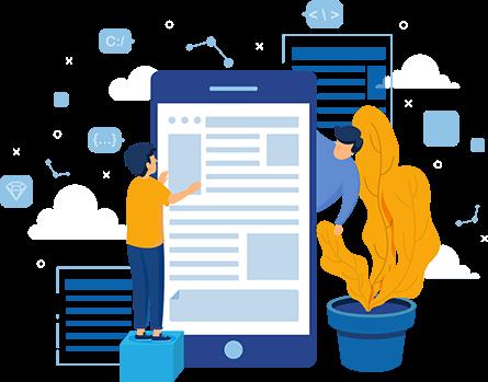 تصميم تطبيقات الجوال Mobile-app
